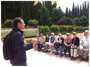 Speaking in Granada